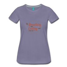 Load image into Gallery viewer, Women's Mountain Calling T-Shirt - washed violet