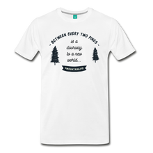 Load image into Gallery viewer, Men's Between Every Two Pines T-Shirt - white