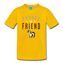 Load image into Gallery viewer, Kids' Future Friend T-Shirt - sun yellow