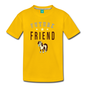Kids' Future Friend T-Shirt - sun yellow