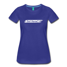 Load image into Gallery viewer, Women's Got Horse T-Shirt - royal blue