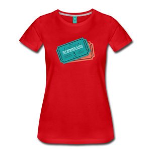 Women's Admit One Bluegrass T-Shirt - red