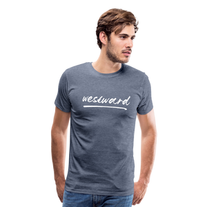 Men's Westward T-Shirt - heather blue