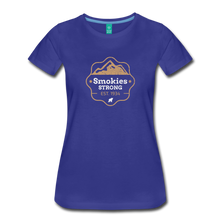 Load image into Gallery viewer, Women's Smokies Strong T-Shirt - royal blue