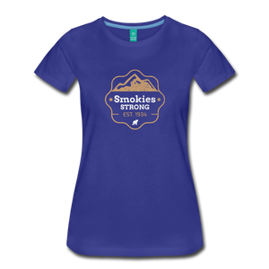 Women's Smokies Strong T-Shirt - royal blue