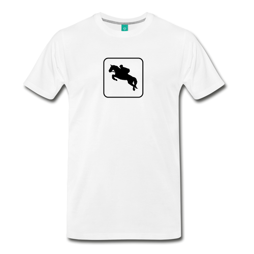 Men's Jumper Icon T-Shirt - white