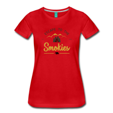 Load image into Gallery viewer, Women's Escape to the Smokies T-Shirt - red