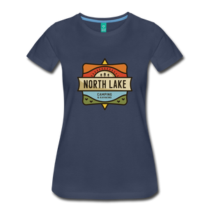 Women's North Lake T-Shirt - navy