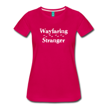 Load image into Gallery viewer, Women's Wayfaring Stranger T-Shirt - dark pink