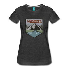 Load image into Gallery viewer, Women's Wander T-Shirt - charcoal gray