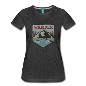 Women's Wander T-Shirt - charcoal gray
