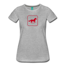 Load image into Gallery viewer, Women's Horse Icon T-Shirt - heather gray