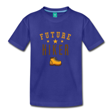 Load image into Gallery viewer, Toddler Future Hiker T-Shirt - royal blue