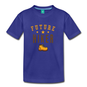 Toddler Future Hiker T-Shirt - royal blue
