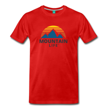 Load image into Gallery viewer, Mountain Life Shirt - red