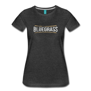 Women's Bluegrass T-Shirt - charcoal gray