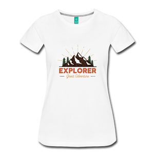 Women's Explorer - white