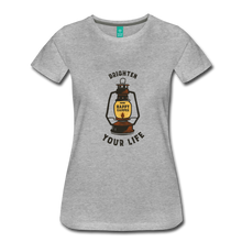 Load image into Gallery viewer, Women's Lantern T-Shirt - heather gray