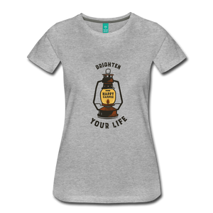 Women's Lantern T-Shirt - heather gray