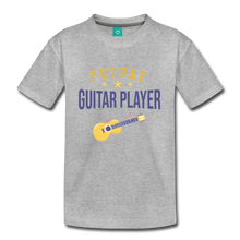 Load image into Gallery viewer, Kids' Guitar Player T-Shirt - heather gray