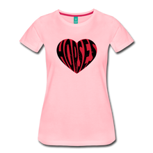 Load image into Gallery viewer, Women's Big Heart Horse T-Shirt - pink