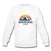 Load image into Gallery viewer, Mountain Life Sweatshirt - white