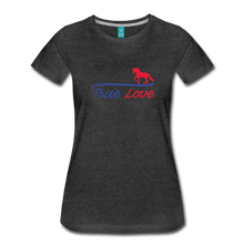 Load image into Gallery viewer, Women's True Love T-Shirt - charcoal gray