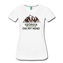 Load image into Gallery viewer, Women's Georgia on my Mind T-Shirt - white