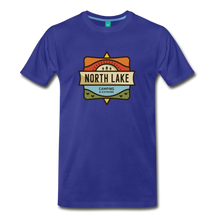 Load image into Gallery viewer, Men's North Lake T-Shirt - royal blue