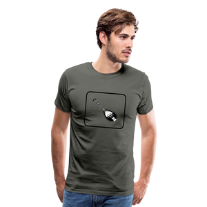 Men's Mandolin Icon T-Shirt - asphalt gray