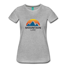 Load image into Gallery viewer, Women's Mountain Life Shirt - heather gray
