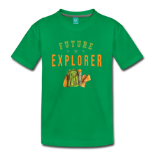 Load image into Gallery viewer, Kids' Future Explorer T-Shirt - kelly green