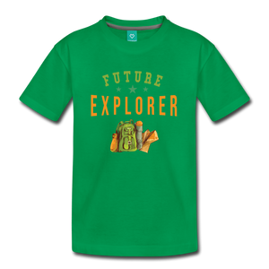 Kids' Future Explorer T-Shirt - kelly green