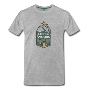 Men's Lost T-Shirt - heather gray