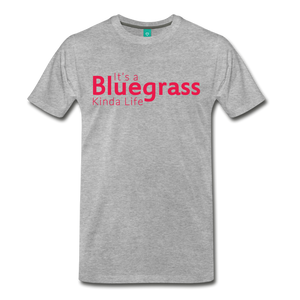Men's Bluegrass Kinda Life T-Shirt - heather gray