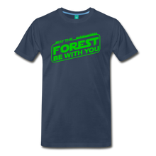 Load image into Gallery viewer, Men's May the Forest be with You T-Shirt - navy