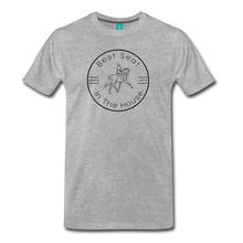 Load image into Gallery viewer, Men's Best Seat in the House T-Shirt - heather gray
