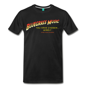 Men's Bluegrass Chosen Wisely T-Shirt - black