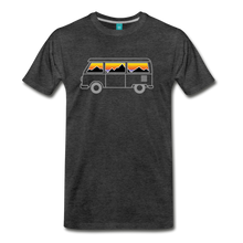 Load image into Gallery viewer, Men's Van Mountains T-Shirt - charcoal gray