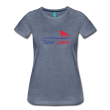 Load image into Gallery viewer, Women's True Love T-Shirt - heather blue