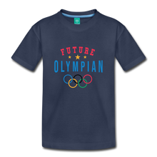 Load image into Gallery viewer, Toddler Future Olympian T-Shirt - navy