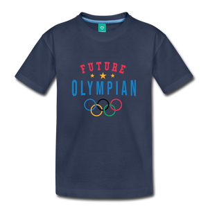 Toddler Future Olympian T-Shirt - navy