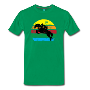 Men's Jumping Sun T-Shirt - kelly green