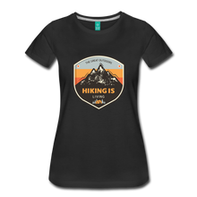 Load image into Gallery viewer, Women's Hiking T-Shirt - black
