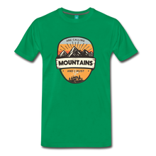 Load image into Gallery viewer, Men's Mountain's Calling T-Shirt - kelly green