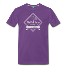 Load image into Gallery viewer, Men's The Peak Horse Diamond T-Shirt - purple