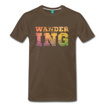 Load image into Gallery viewer, Men's Wandering T-Shirt - noble brown