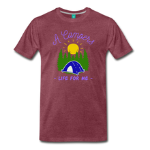 Load image into Gallery viewer, Men's Campers Life T-Shirt - heather burgundy