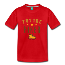 Load image into Gallery viewer, Kids' Future Hiker T-Shirt - red