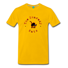 Load image into Gallery viewer, Men's The Skaredy Katz T-Shirt - sun yellow